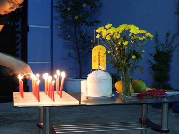 Cách sắm lễ sao Thái Bạch