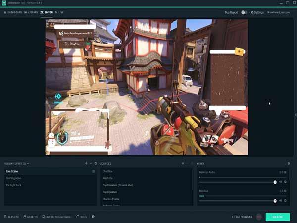Phần mềm quay màn hình PC OBS Studio