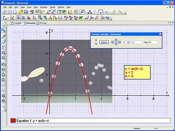 Phần mềm vẽ đồ thị AutoGraph