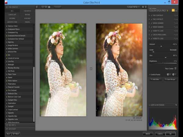 Phần mềm làm nét ảnh Color Efex Pro