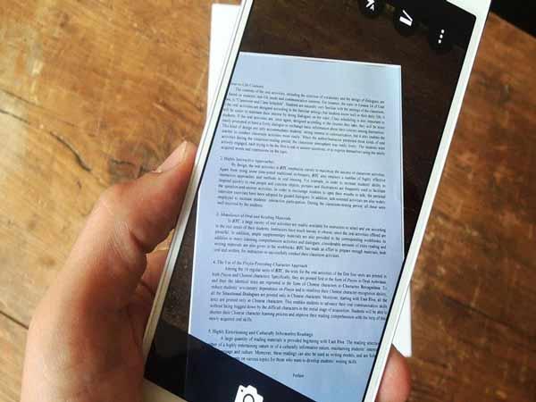 Phần mềm scan trên điện thoại Office Lens