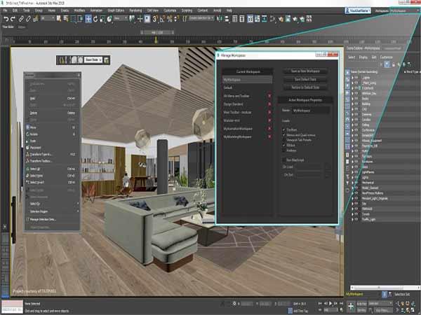 Điểm danh 5 phần mềm thiết kế nội thất 3D