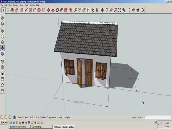 Phần mềm vẽ 3D SketchUp
