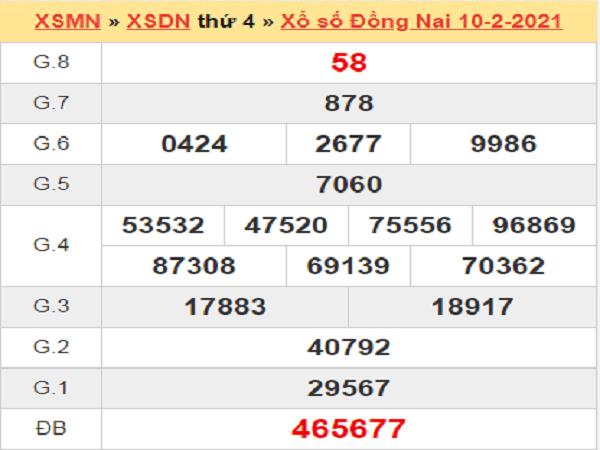 Soi cầu XSDN 17/2/2021